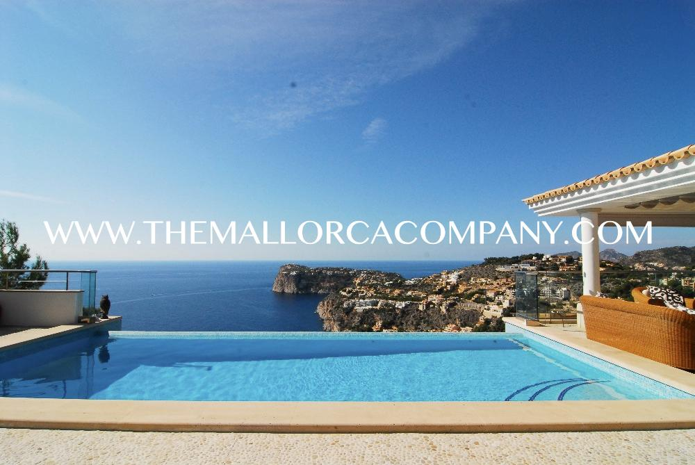 Stunning villa with amazing views to Port Andratx