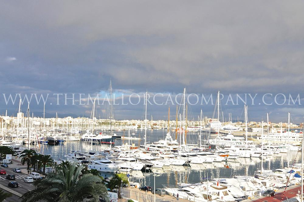 Luxury flat with private pool direct on Paseo Maritimo with amazing views